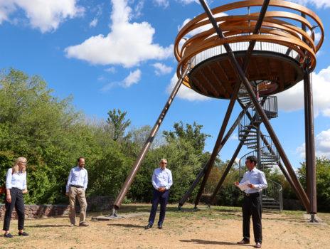 """Wiedereröffnung Regionalpark Erlebnispunkt """"Vogelnest"""" am 3. Juli 2020"""