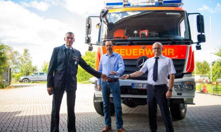 Neues Staffellöschfahrzeug für die Freiwillige Feuerwehr Königstädten