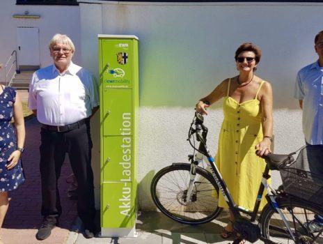 Neue Ladeinfrastruktur für E-Auto- und E-Bike-Fahrer in Dienheim