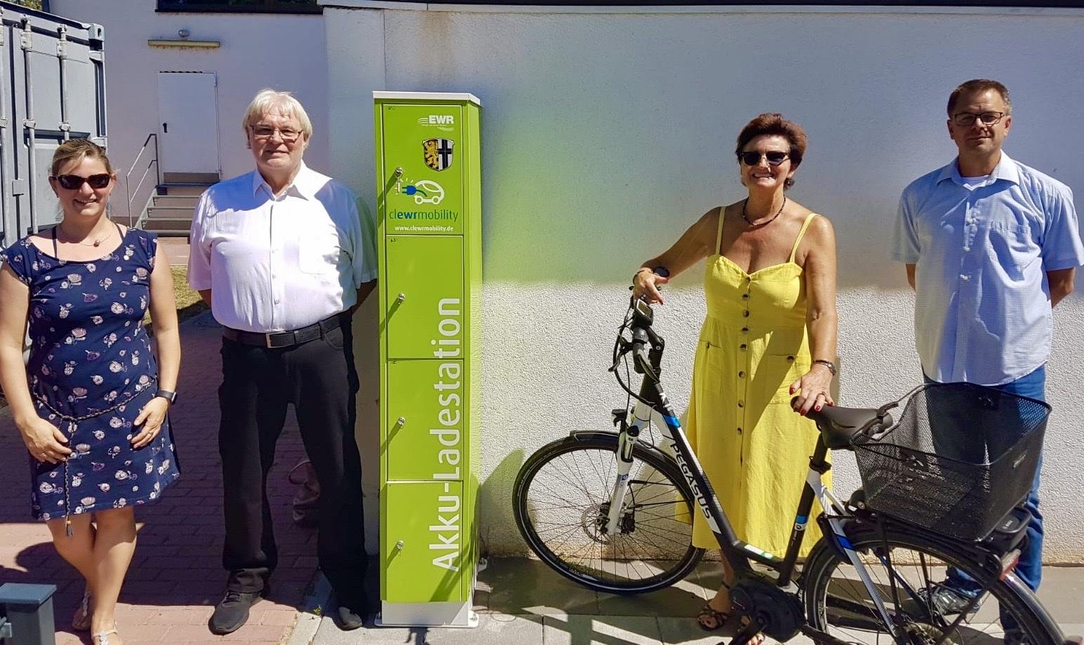 Neue E-Lademöglichkeiten in Dienheim eingeweiht.