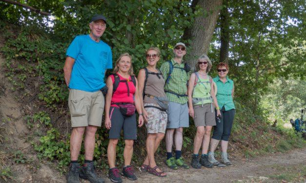 Fitness-Wanderung am 16. August 2020