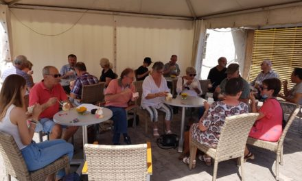 Helferinnen und Helfer zum Eisessen eingeladen