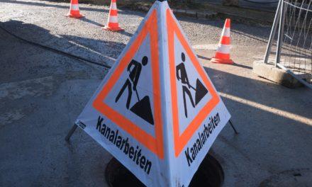 Kanalreinigungs- und Inspektionsarbeiten in Haßloch-Nord