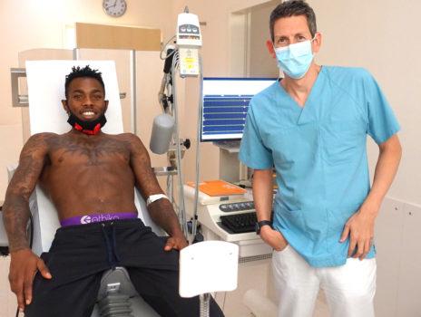 Basketballer der EBBECKE WHITE WINGS HANAU erneut zum Gesundheitscheck im GPR Klinikum