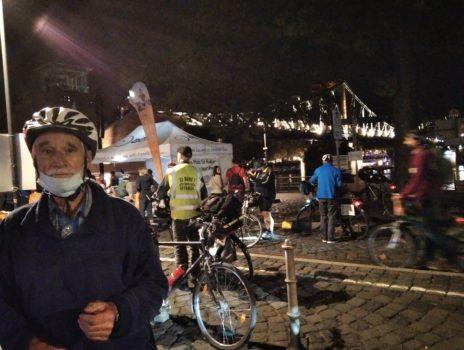 Bike-night in Frankfurt mit mehr als 1 600 Teilnehmern