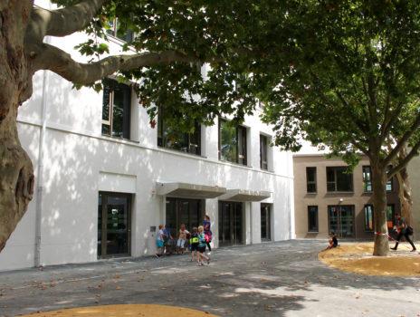 Räume für Unterricht und 100-Prozent-Betreuung