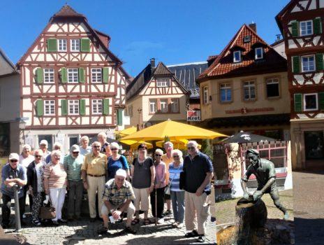 Rentnerclub der Siedler besuchte Mosbach im Odenwald