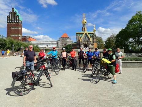 Schlössertour zum Abschluss der Skiclub-Fahrradsaison 2020