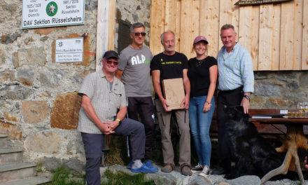 Sektionsausfahrt und Pächterwechsel auf der Rüsselsheimer Alpenvereinshütte