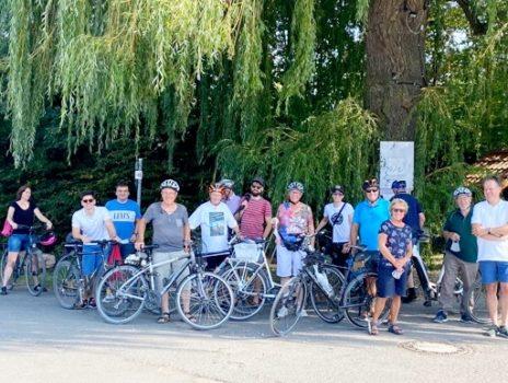 CDU Radtour rund um Flörsheim bei schönstem Sonnenschein