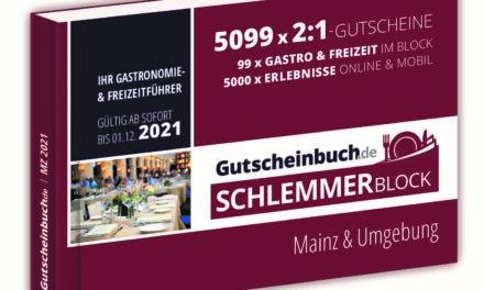 """<span class=""""entry-title-primary"""">ZU GEWINNEN: 3 x 1 Schlemmerblock 2021</span> <span class=""""entry-subtitle"""">Journal LOKAL und mein südhessen verlosen insgesamt 3 Schlemmerblöcke 2021 für Mainz & Umgebung</span>"""