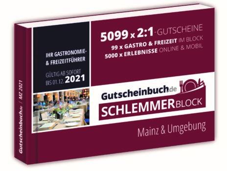 ZU GEWINNEN: 3 x 1 Schlemmerblock 2021