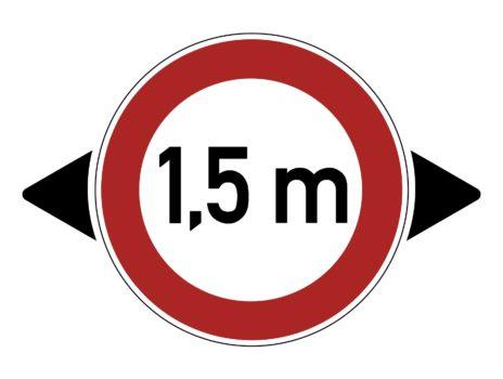 Abstand halten: Beim Überholen von Fahrradfahrenden