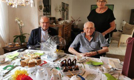 Stadt gratuliert zum 101. Geburtstag