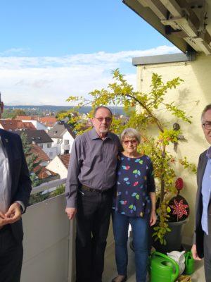 Hans-Peter und Roswitha Barth feierten ihre Goldene Hochzeit zwischen Umzugskisten
