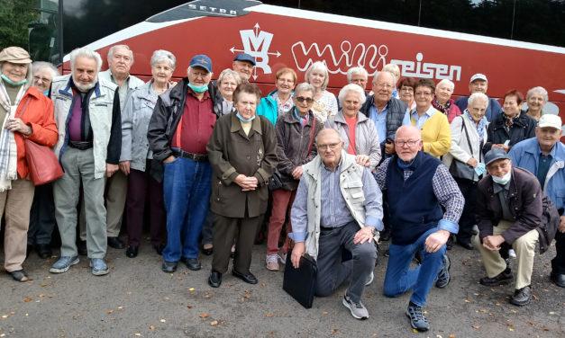 Rentnerclub der Siedler besuchte die Kurstadt Bad Orb