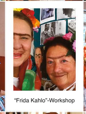 Auf den Spuren der mexikanischen Malerin Frida Kahlo