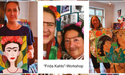 """<span class=""""entry-title-primary"""">Auf den Spuren der mexikanischen Malerin Frida Kahlo</span> <span class=""""entry-subtitle"""">""""Wozu brauche ich Füße, wenn ich Flügel habe?""""</span>"""