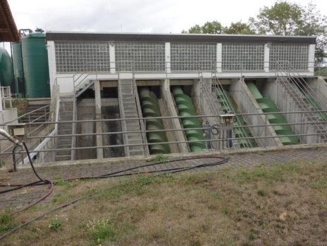 Wasser gefährdet die Ortsgemeinden am Rhein