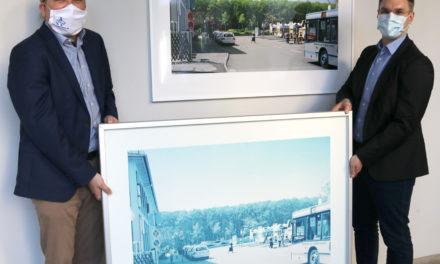 """""""was wäre wenn"""" – Arbeiten des Fotokünstlers Lewis Baltz im Rathaus erneuert"""