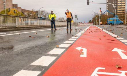 Adam-Opel-Straße: Fertigstellung der Baumaßnahme im Zeit- und Kostenplan