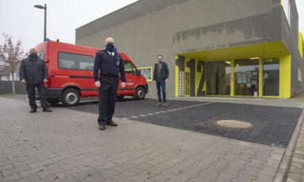 Parkplatz und Übungsfläche am Feuerwehrhaus Bauschheim ertüchtigt