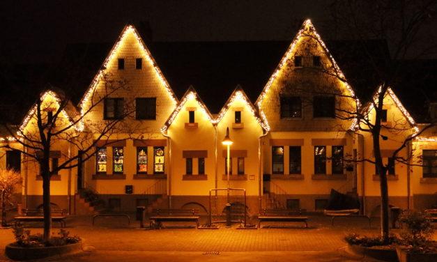 9600 Leuchten bringen den Cramer-Klett-Platz zum Glänzen