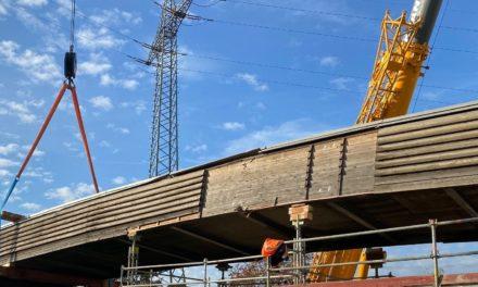 B40: Brücke bald wieder intakt