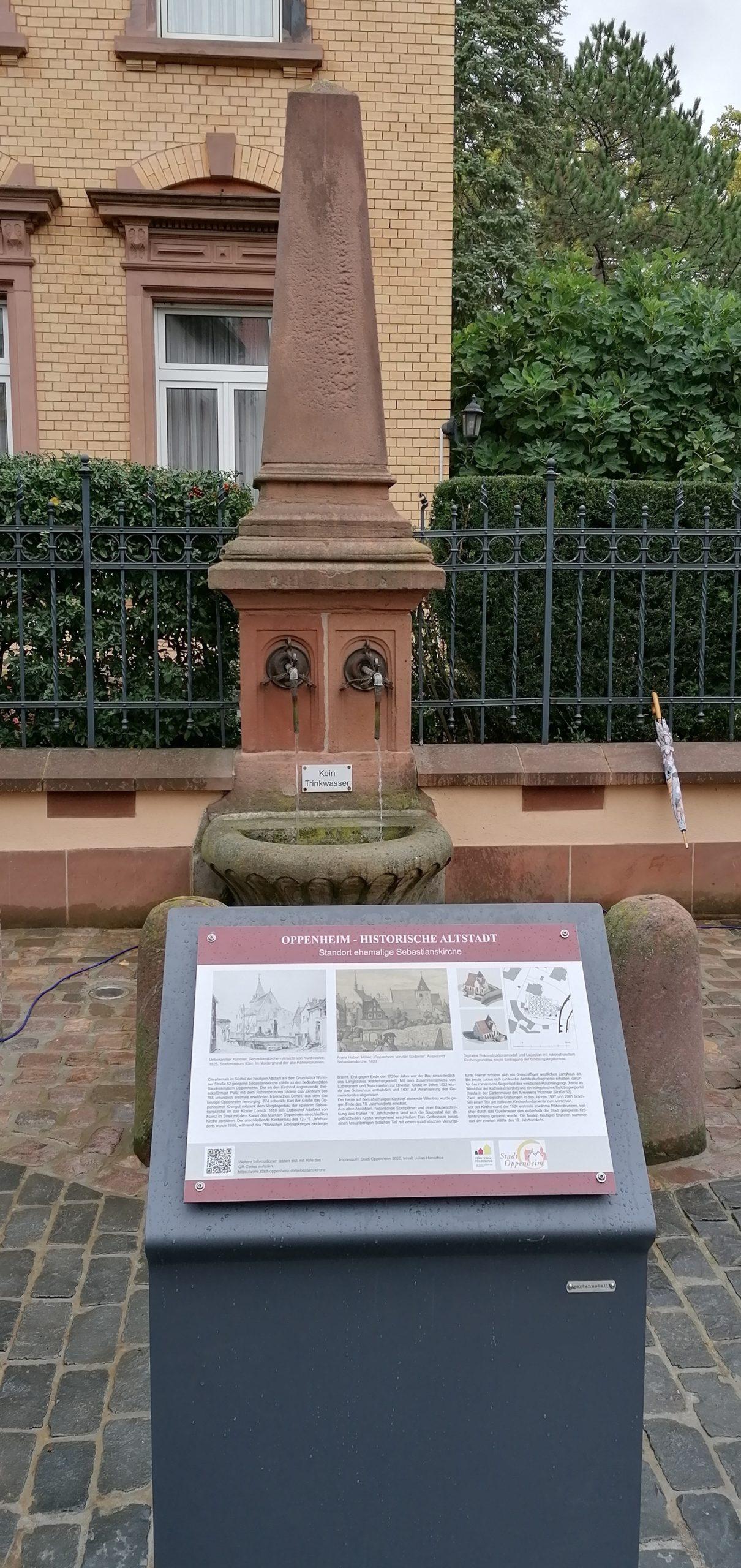 Eröffnung Röhrenbrunnenplatz