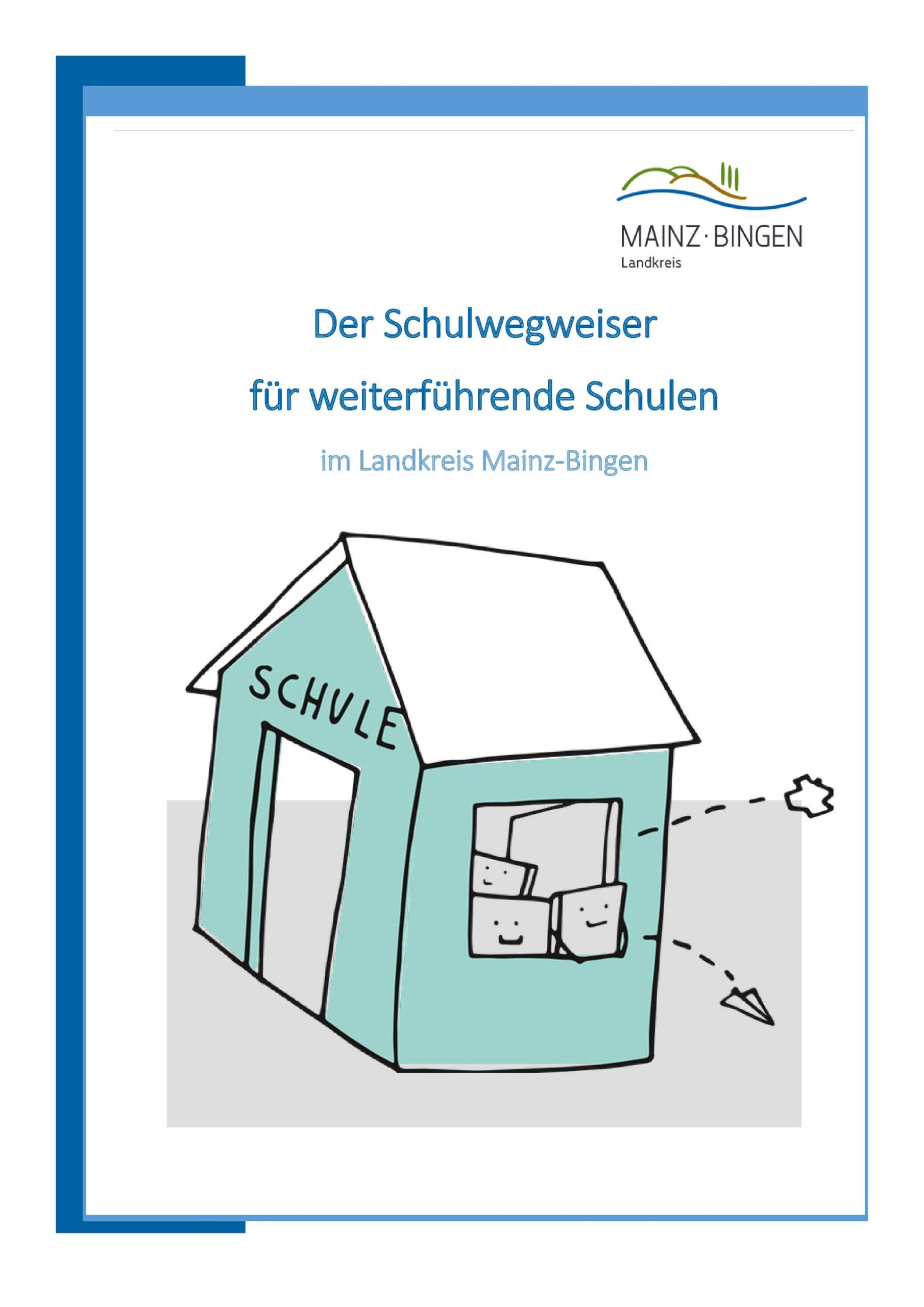 Flyer Schulwegweiser/Foto: Kreisverwaltung Mainz-Bingen.