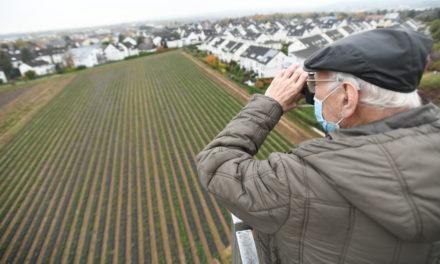 """<span class=""""entry-title-primary"""">Ein Herzenswunsch ging in Erfüllung</span> <span class=""""entry-subtitle"""">Gerhard Jaeger: Mit Kamera noch einmal in den Hubsteiger, um Kriftels Entwicklung zu dokumentieren</span>"""