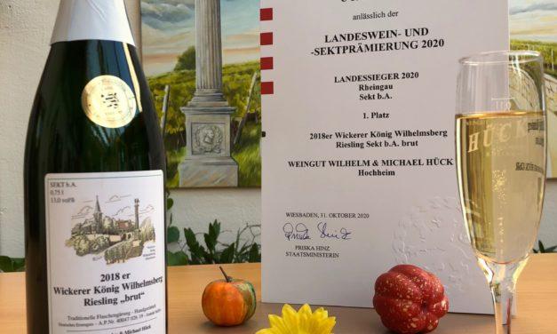 """<span class=""""entry-title-primary"""">Landeswein und Sektprämiierung Hessen 2020 – TOP-Ergebnisse für Hochheimer und Wickerer Winzer</span> <span class=""""entry-subtitle"""">2018 er Wickerer König Wilhelmsberg-Sekt """"brut"""" ist Landessieger</span>"""