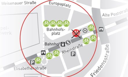 Stadt Rüsselsheim erweitert Bike + Ride Angebot am Bahnhof und Opelwerk