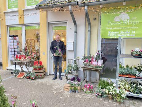 Erster Blumenladen in Bodenheim