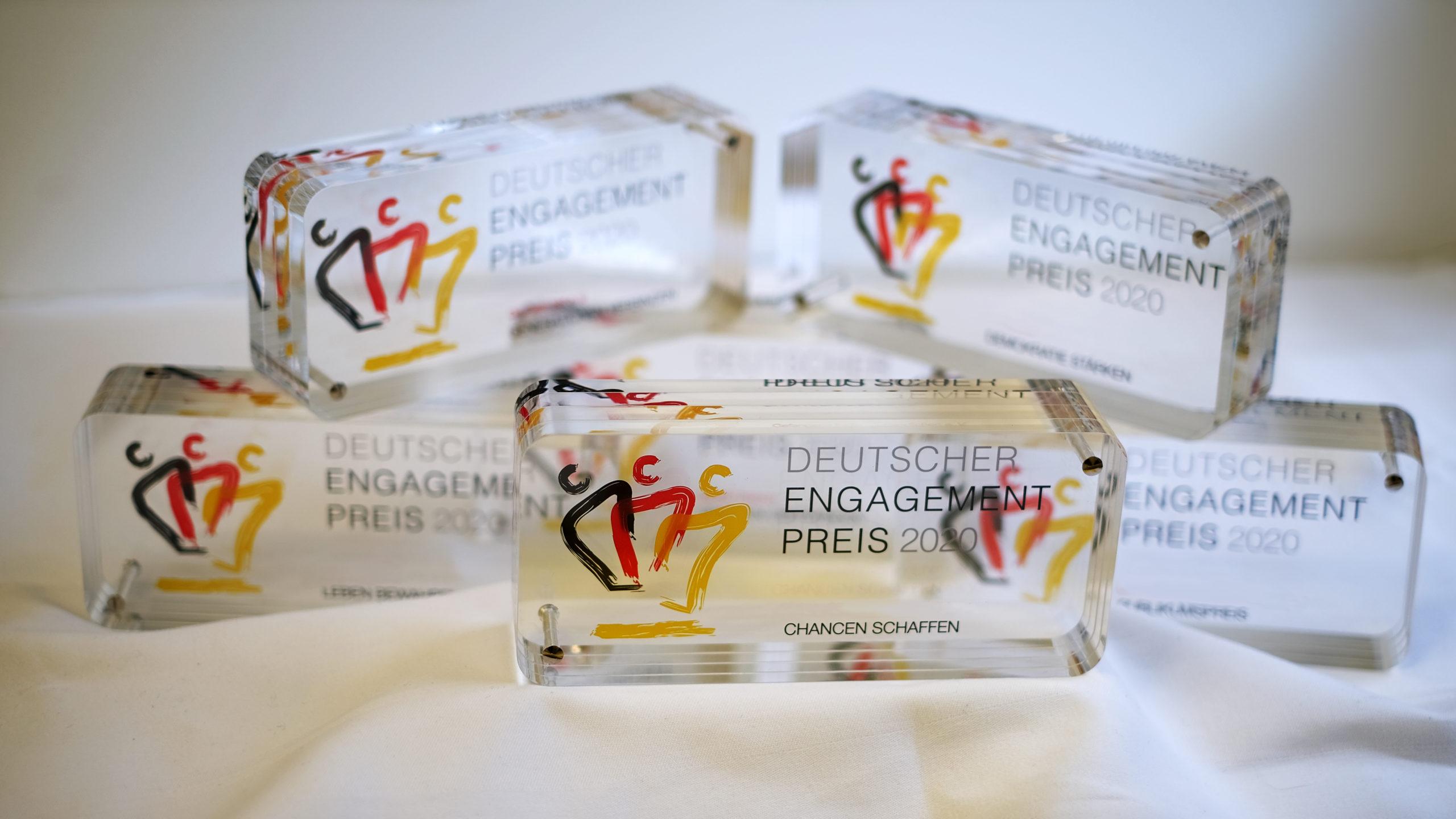 Der Deutsche Engagementpreis ist der Dachpreis für bürgerschaftliches Engagement in Deutschland