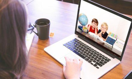 Jugendförderung der Stadt Rüsselsheim mit Online-Angeboten für Kinder und Jugendliche im Einsatz