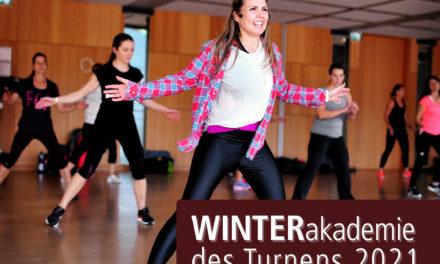 Die Winterakademie des Turnens – ab sofort anmelden!