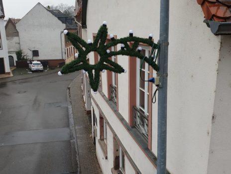 Keine Weihnachtsbeleuchtung mehr in Laubenheim