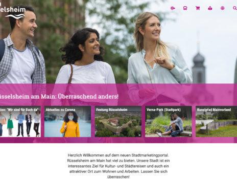 Neues Rüsselsheimer Stadtmarketingportal mit Präsentationsmöglichkeit für Rüsselsheimer Gewerbe