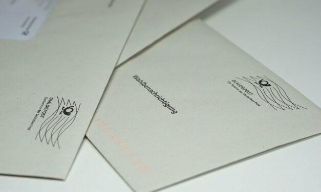 Briefwahlunterlagen können ab Februar beantragt werden