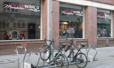 Zusätzliche Fahrrad-Stellplätze an der Marktstraße