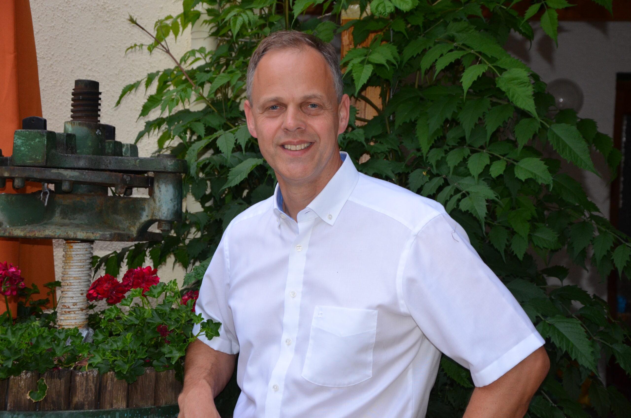 Bürgermeister Jochen Schmitt