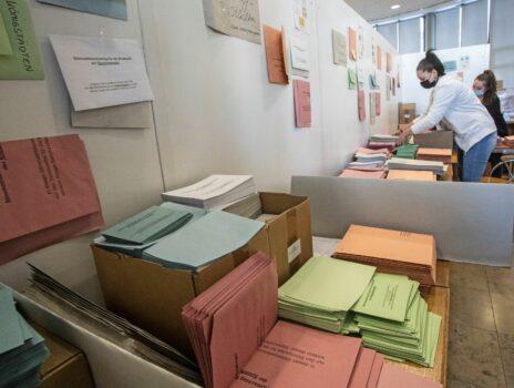 Versand der Wahlbenachrichtigungen und Musterstimmzettel