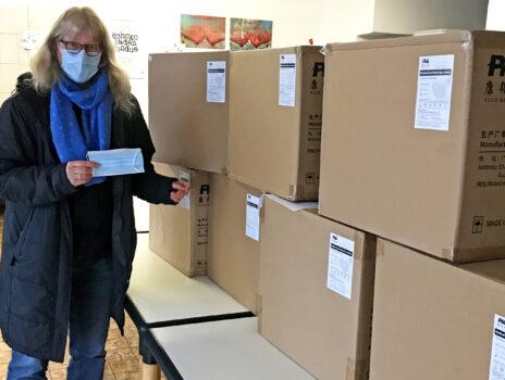 40.000 Masken für Tafel-Kunden