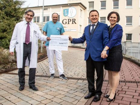 Ristorante Italia sammelt 1.628 Euro für die Onkologie des GPR Klinikums