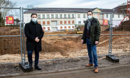 Bauarbeiten für neues Ganztagsgebäude werden vorbereitet