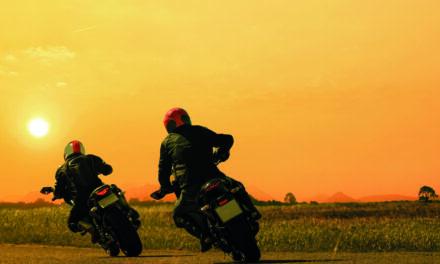 """<span class=""""entry-title-primary"""">Sicher im Sattel unterwegs</span> <span class=""""entry-subtitle"""">Start in die Motorradsaison</span>"""