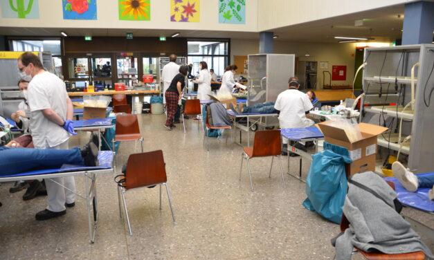 Trotz Corona – 107 Blutspender wollen ihr Blut zur Verfügung stellen!