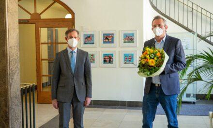 """""""In meinem Beruf immer wohl gefühlt"""": Verabschiedung von Achim Eckel"""