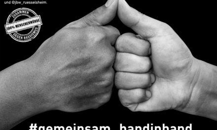 """Internationale Wochen gegen Rassismus 2021 in Rüsselsheim am Main: """"Solidarität. Grenzenlos"""""""